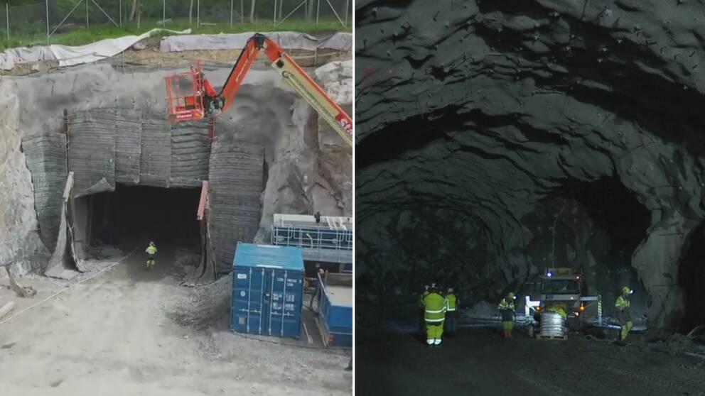 Starta klippet för att se hur bygget vid Liseberg ser ut just nu.