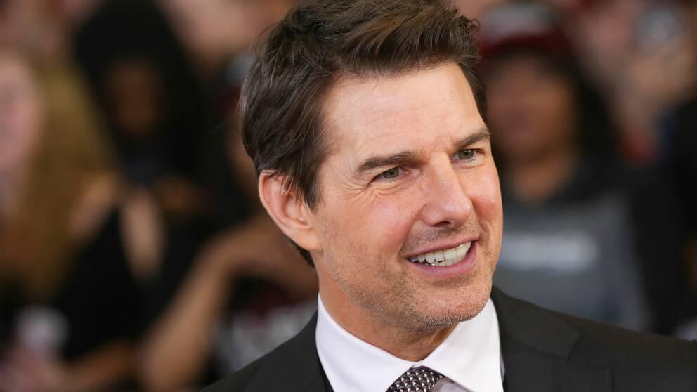 Tom Cruise under premiären av den senaste Mission: Impossible-filmen i juli 2018.