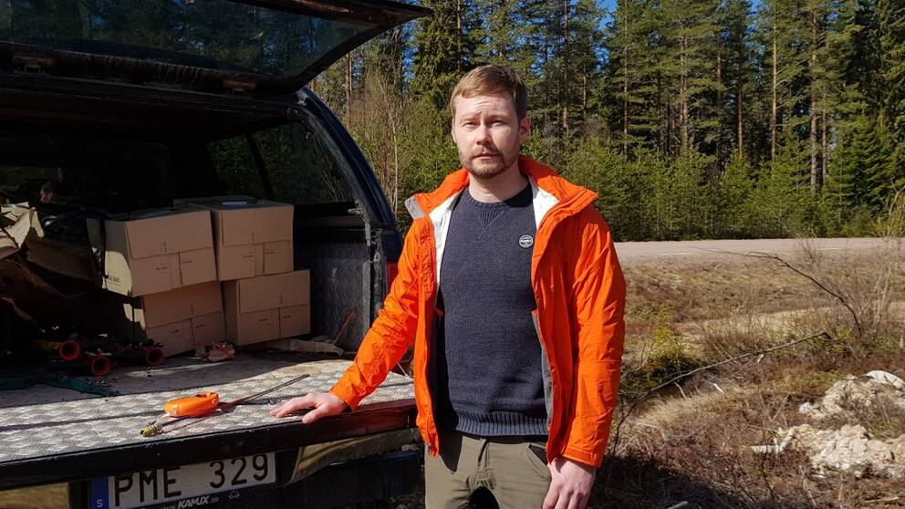 Fredrik Gundhe, vd för Dala kvalitetsskog.
