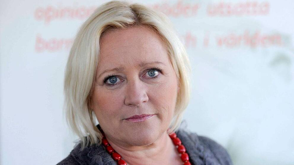 Elisabeth Dahlin, generalsekreterare på Rädda Barnen