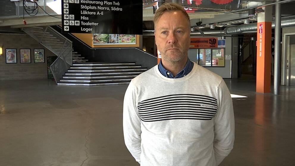 per rosenqvist, klubbchef Karlskrona HK
