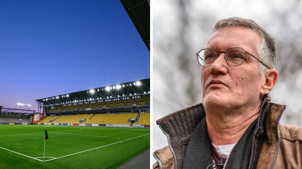 Anders Tegnell tror inte att det kommer spelas allsvensk fotboll på arenorna i juni.