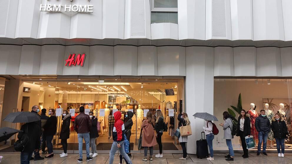 H&M-butik i Tyskland