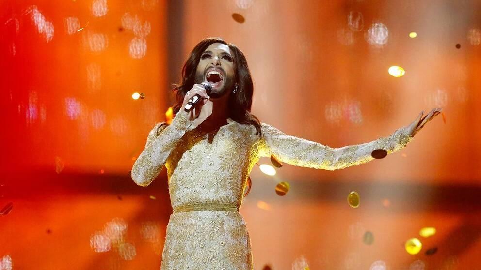 Conchita Wurst vann Eurovision song contest 2014