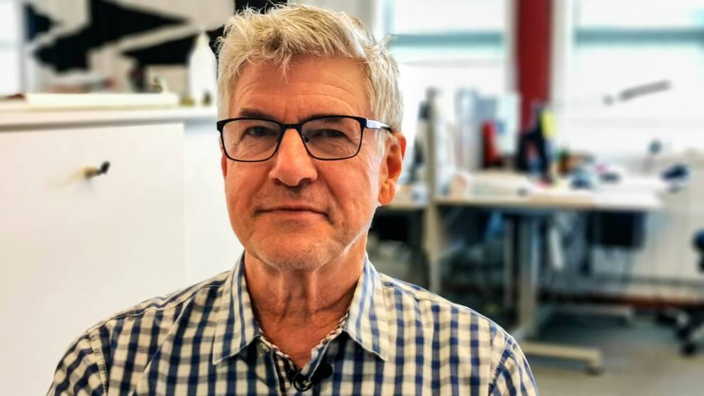 Hans Boman, smittskyddsläkare på Region Västernorrland.