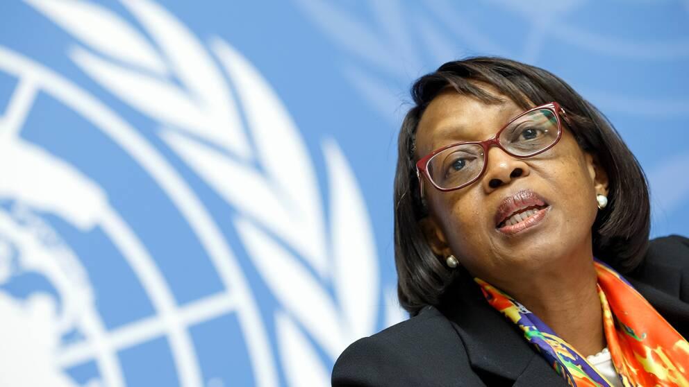 """""""Vi måste testa, spåra, isolera och behandla"""", säger Matshidiso Moeti, WHO:s regionala chef för Afrika."""