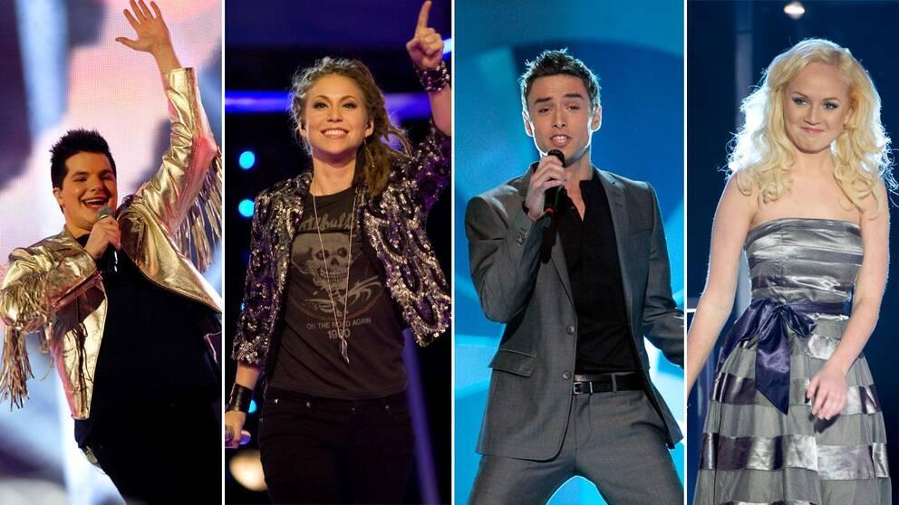 Melodifestivalens startfalt klart