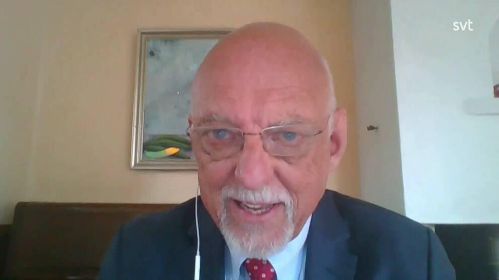 Hans Dahlgren (S), EU-minister