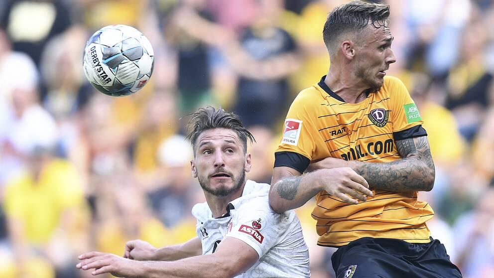 I Dresden återfinns svenske Linus Wahlqvist, till höger.