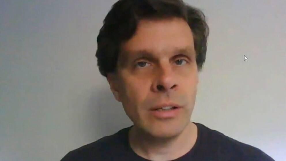 Erik Kjellström, professor i klimatologi vid SMHI,