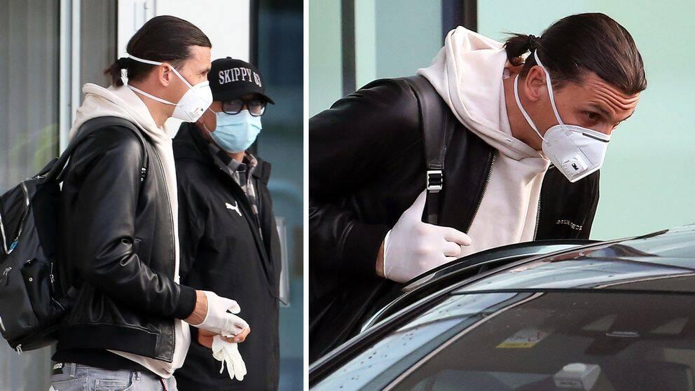 Zlatan Ibrahimovic har landat i Milano igen.
