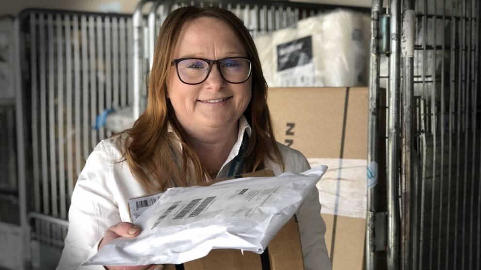 Agnes Karlsson regionchef i Postnord