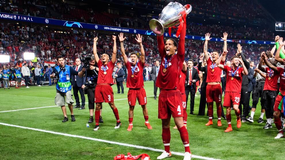 Liverpool vann Champions League förra året.