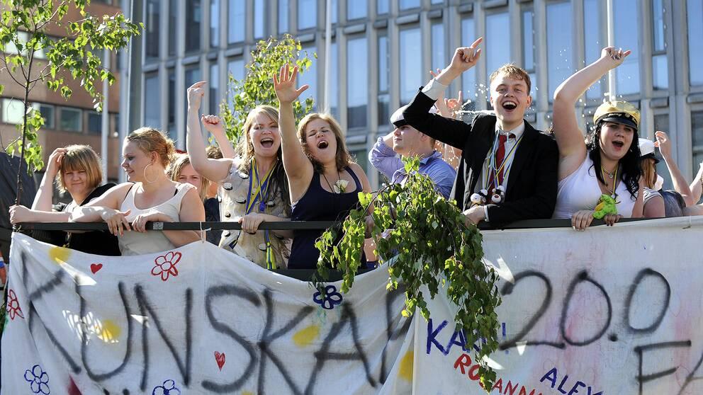 Studentflaken kommer att lysa med sin frånvaro på Sveriges gator under 2020