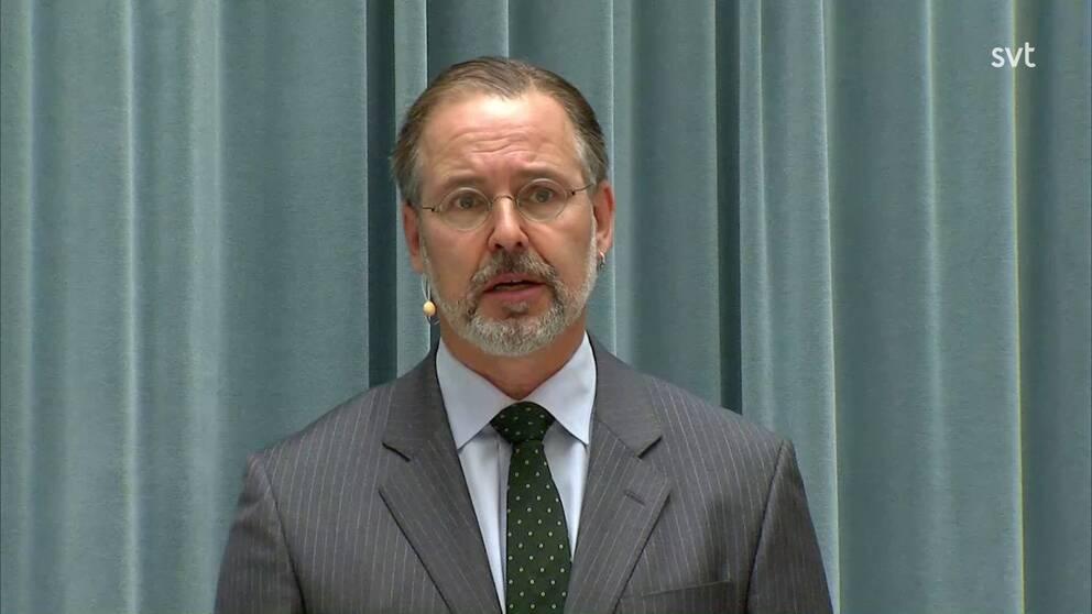 Anders Borg, fd finansminister (M).