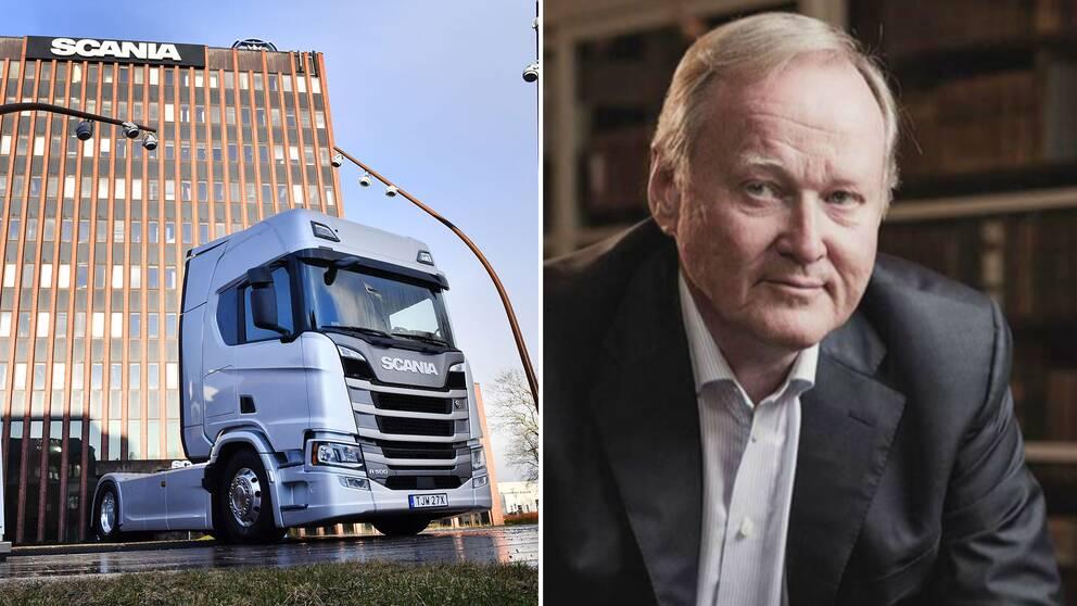 Leif Östling var under nästan 20 års tid vd på Scania.