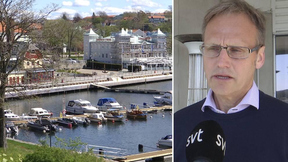 Strömstads kommunalråd om gränsbeskedet från Norge