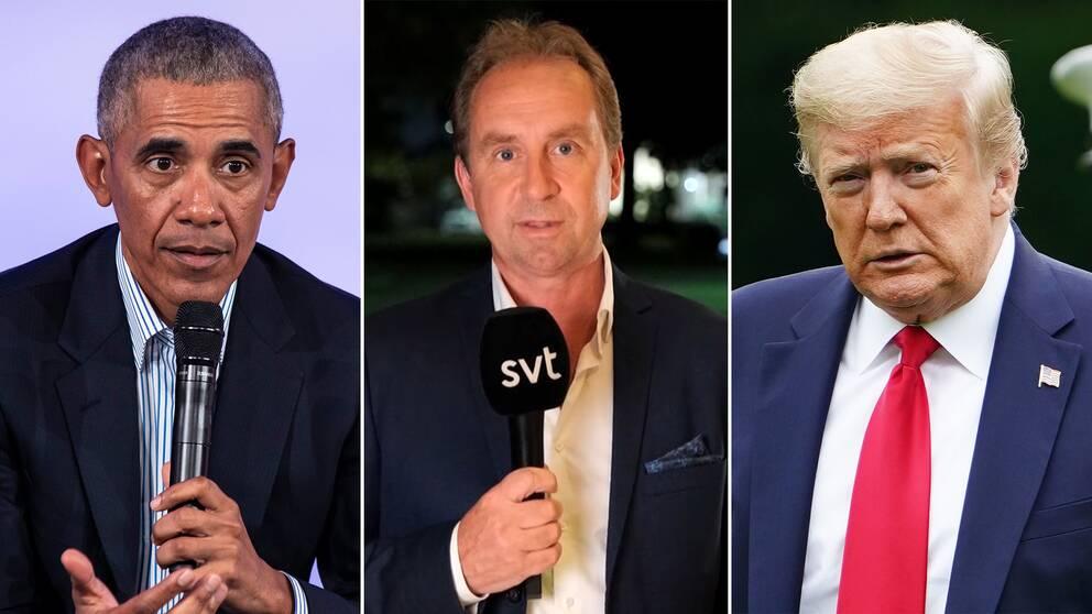 SVT:s korrespondent Stefan Åsberg kommenterar den förre presidenten Barack Obamas kritik mot president Trumps hanterande av coronapandemin.