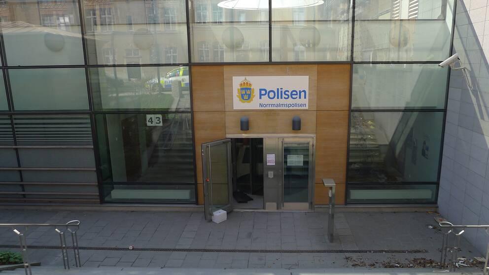Norrmalms polisstation i Stockholm.