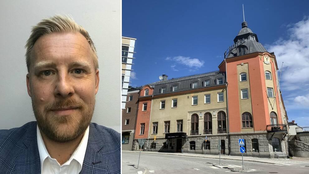 Johan Appelgren, sverigechef på First hotels