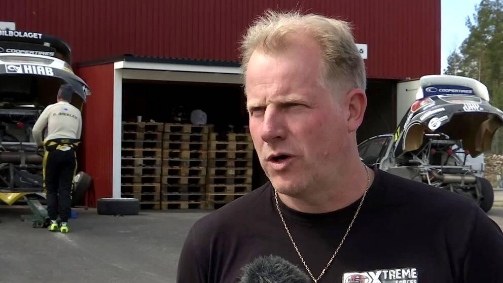 Stallchef Andreas Eriksson