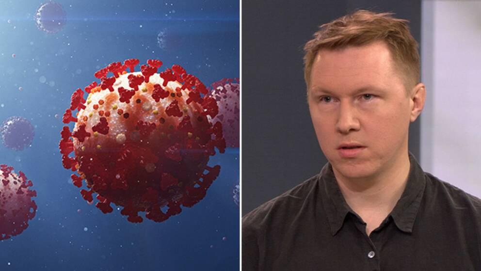 Läkaren och forskaren Petter Brodin om vad Folkhälsomyndighetens tester säger om immunitet. Arkivbild.