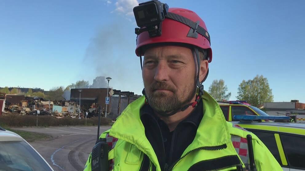 Räddningsledaren Kent Nilsson