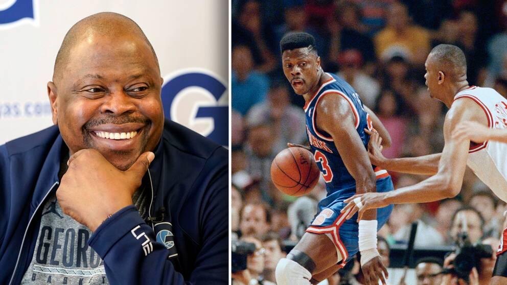 NBA-legendaren Patrick Ewing har smittats av covid-19.