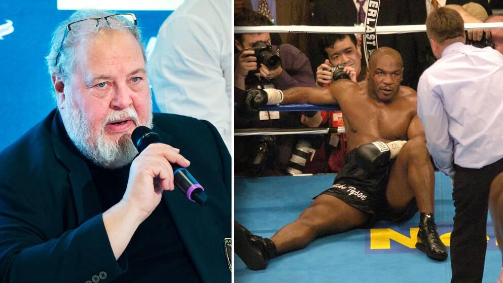 Boxningsoraklet Olof Johansson vill inte se legendaren Mike Tyson göra comeback i proffsringen.