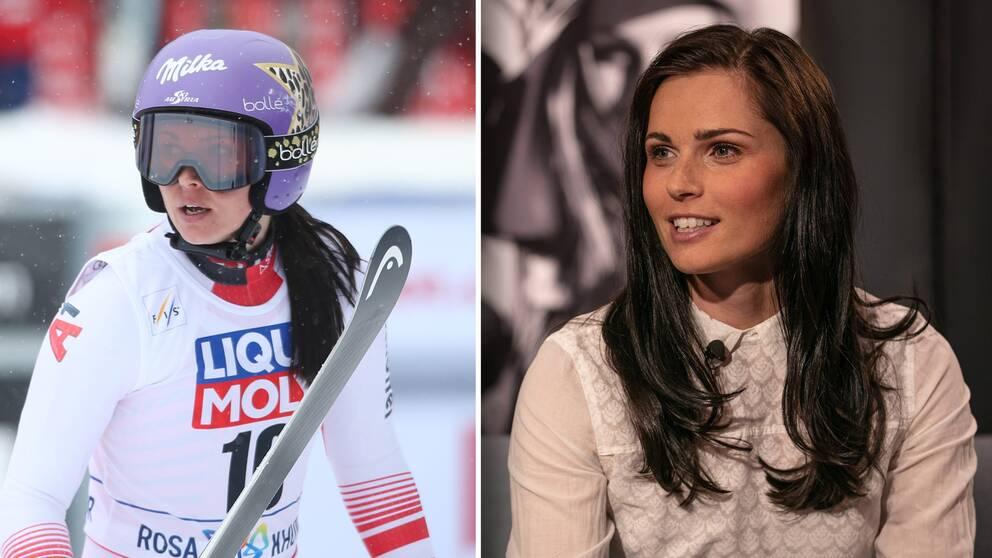 Österrikiska stjärnan och olympiamästaren Anna Veith, 30 år, lägger skidorna på hyllan.