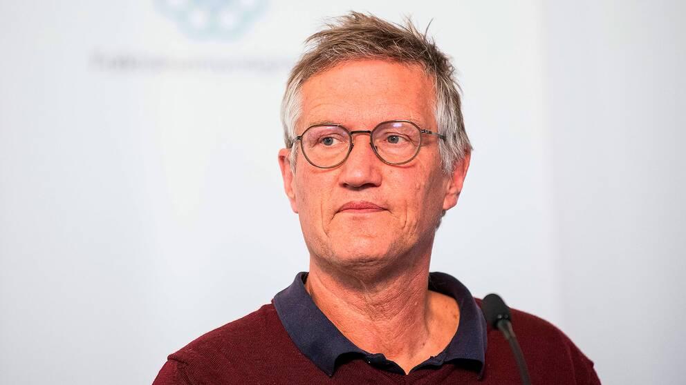 Anders Tegnell, Folkhälsomyndigheten