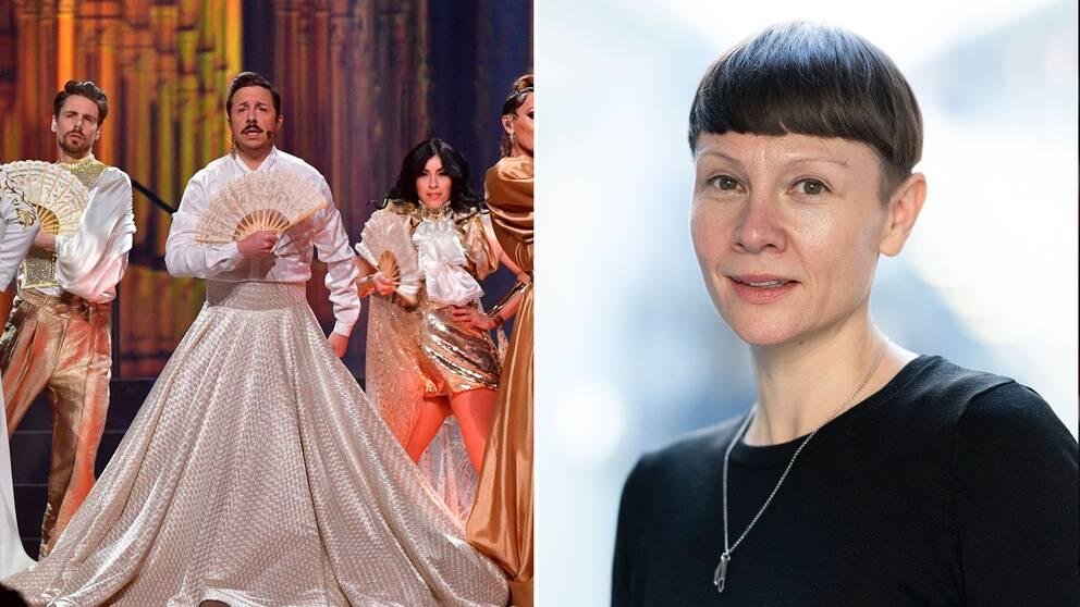 Karin Gunnarsson vill öka andelen kvinnliga låtskrivare i Melodifestivalen med hjälp av nya regler.