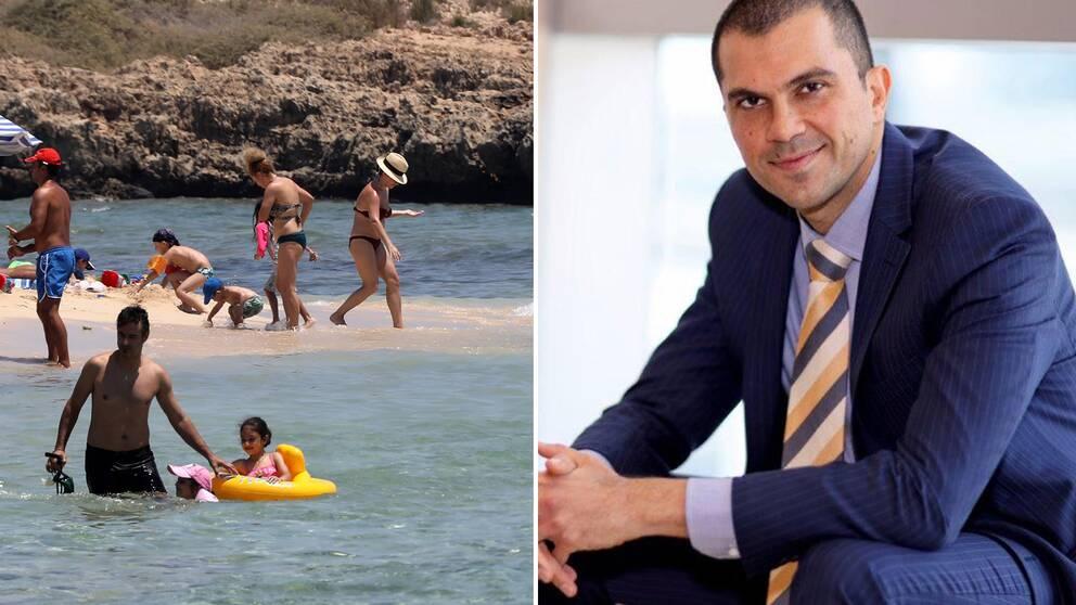 Savvas Perdios, Cyperns turismminister.