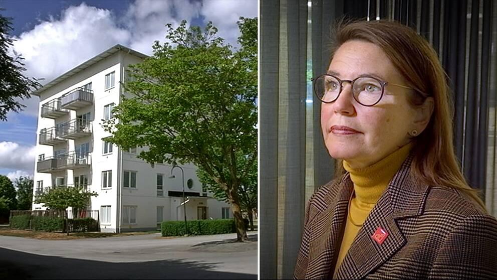 Elisabeth Kalkhäll, vd för Gotlandshem.