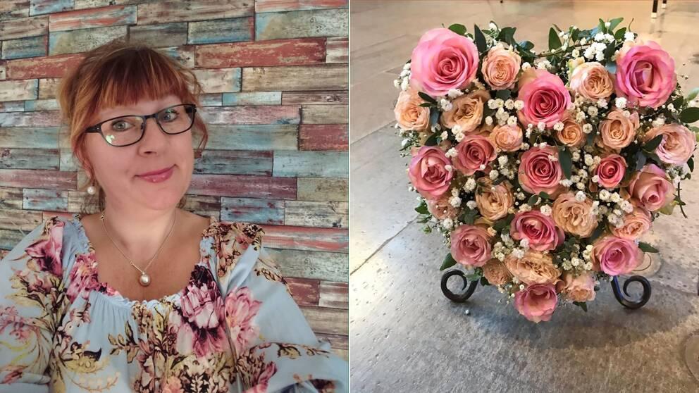 blommor, begravning