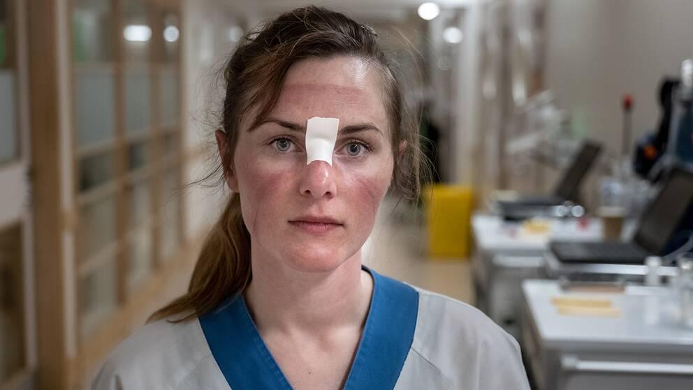 Jenny Kostov Kanebjörk, specialistsjuksköterska.