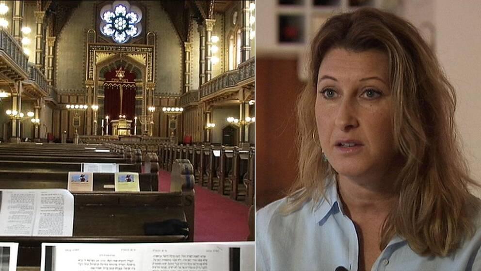 Eva Serner, vars dotter skulle åkt med på Judiska församlingens traditionella sportlovsresa.