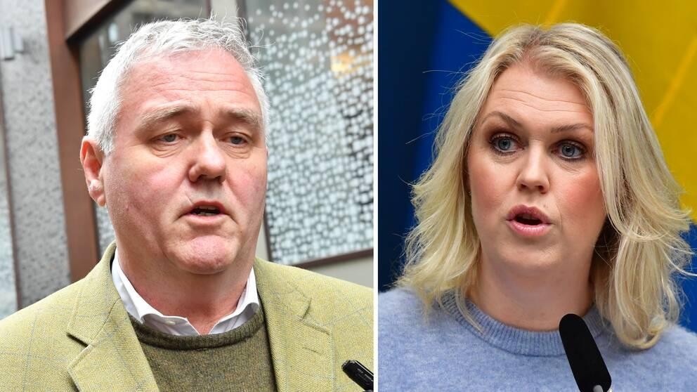 Centerpartiets tillfällige partiledare Anders W. Jonsson (C) skriver om svenska coronastrategin på DN Debatt. Socialminister Lena Hallengren kallar det för bra förslag.