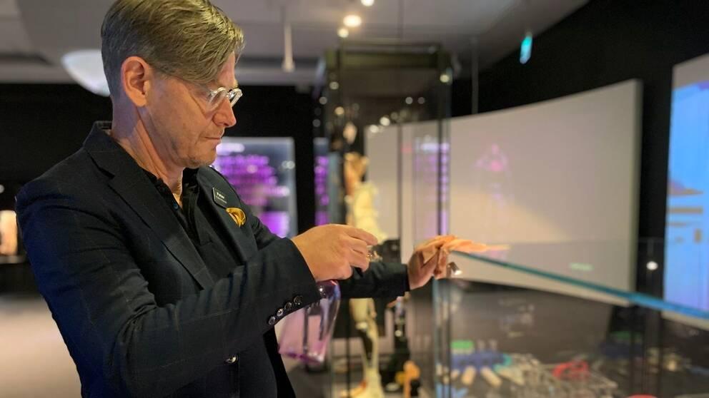 Peter Skogh museidirektör Tekniska museet
