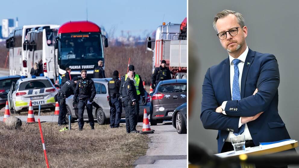 """""""Smittspridningen i Skåne är lägre än på Själland"""", säger inrikesminister Mikael Damberg (S) och hoppas att till exempel skåningar snart ska slippa gränskontrollerna mot Danmark."""
