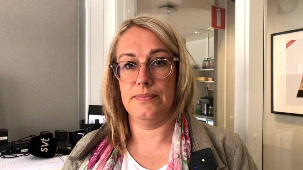 Anna-Karin Thorstensson ansvarig utgivare redaktionschef SVT Nyheter öst