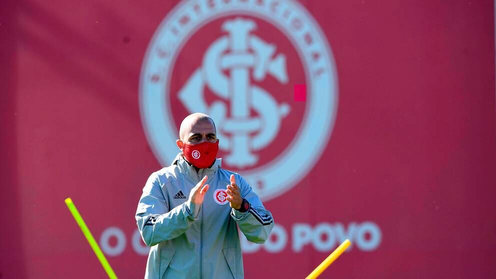 Träning i Porto Alegre i början av maj