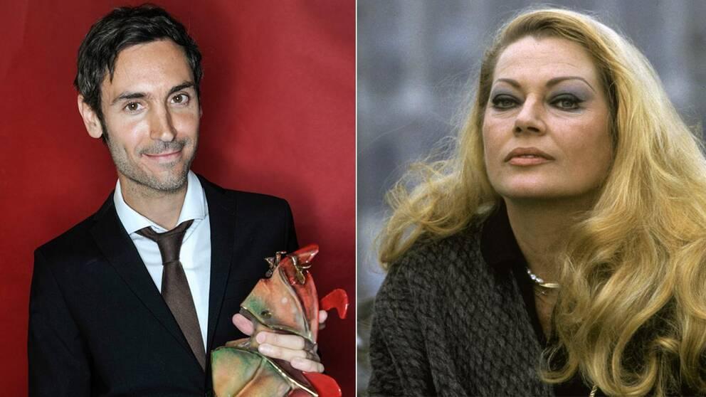 Malik Bendjelloul och Anita Ekberg hedrades på Oscarsgalan.