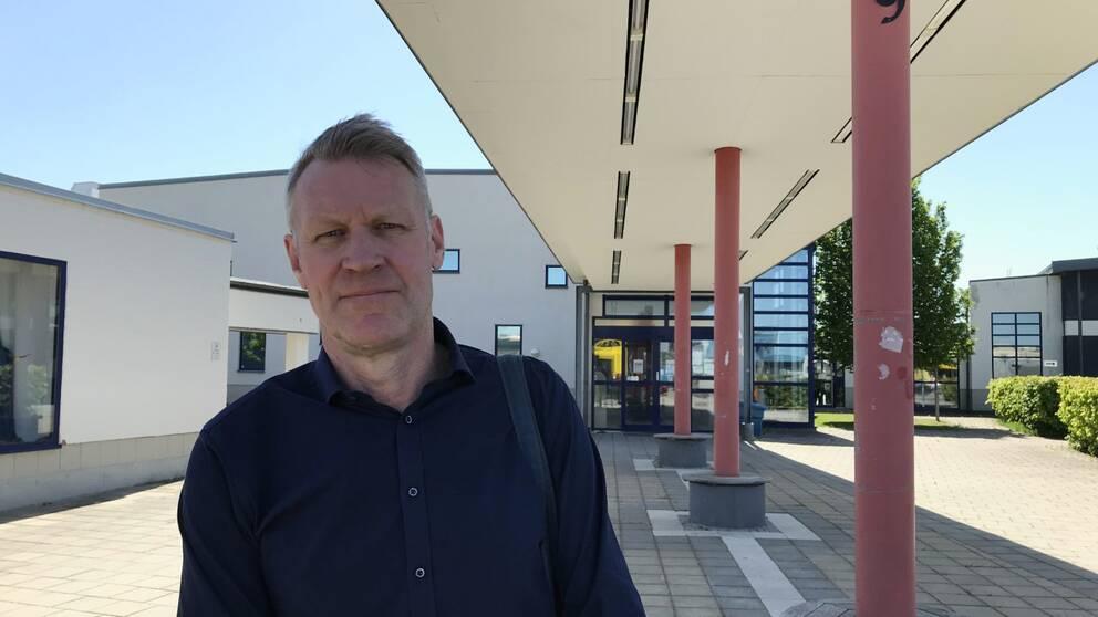 Svante Tideman, 1:e vice förbundsordförande Lärarnas riksförbund samt lärare i svenska och engelska på Tullängsgymnasiet i Örebro.
