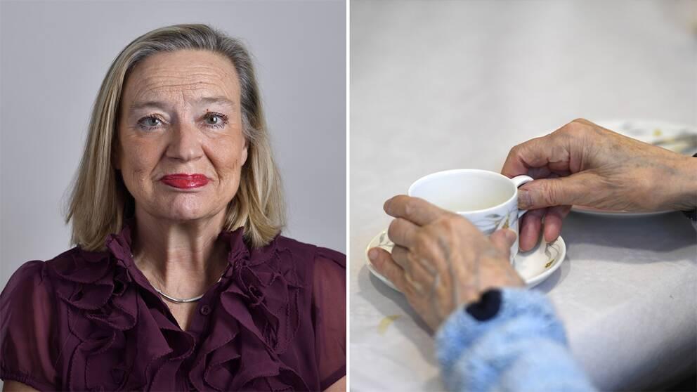Karin Rågsjö från Vänsterpartiet.