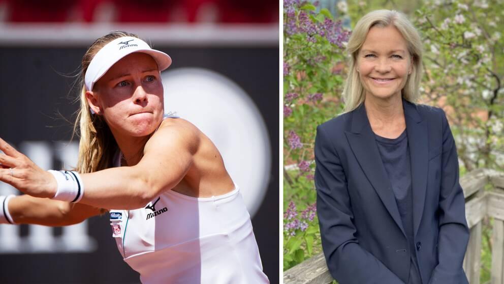 Johanna Larsson, till vänster, och Åsa Hedin.