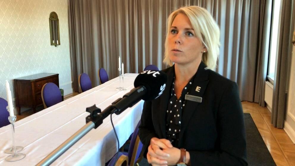 Hotelldirektören Anna Björkenstam Wedberg