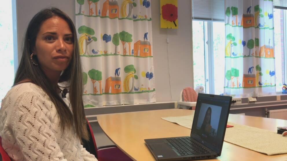 Paulina Vidal, familjehemssekreterare på Södertälje kommun