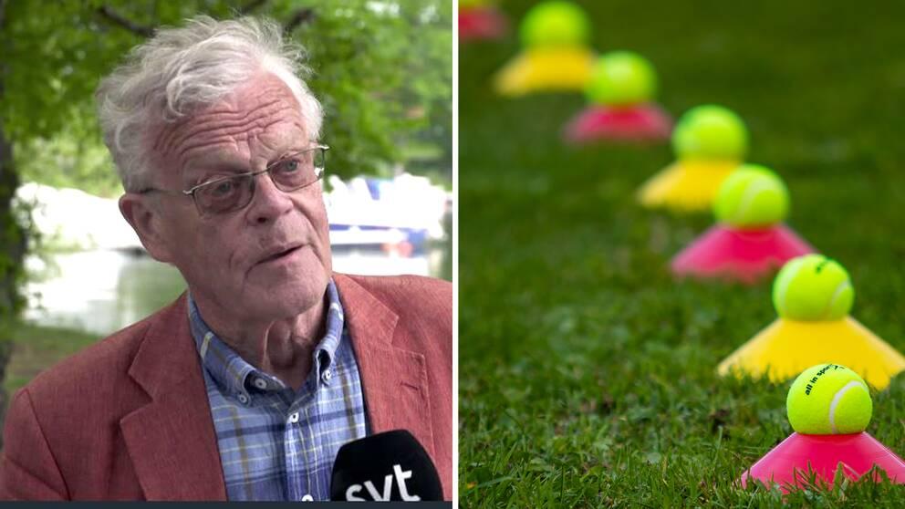 Björn Eriksson, ordförande i Riksidrottsförbundet.