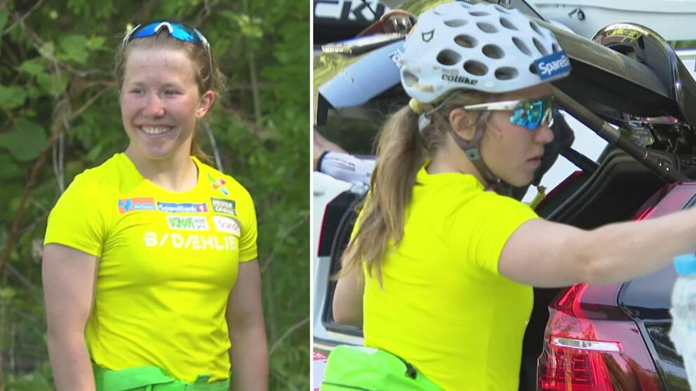 Helena Marie Fossesholm på plats på Norges sommarläger.